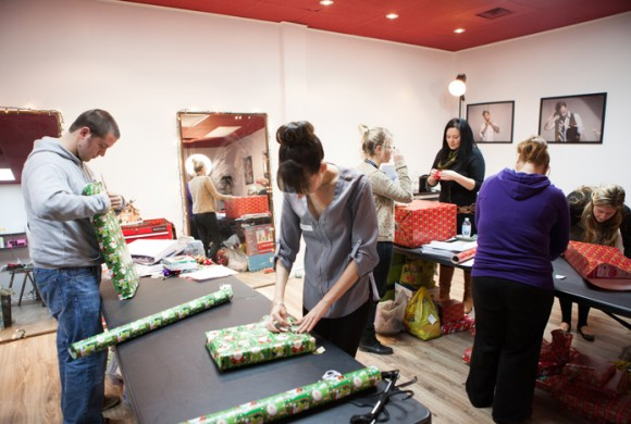 2nd Annual Friends With Hearts Wrapping Party